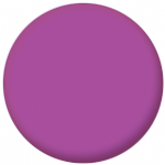 Plain Purple 58mm Fridge Magnet
